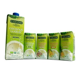 Organic Coconut Water - 1 tray - naturel