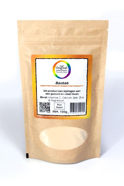 Original Superfoods Biologische Baobabpoeder 100 Gram gezond?