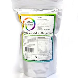 Original Superfoods Chlorellapoeder 250 Gram gezond?