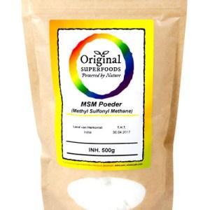 Original Superfoods Methyl Sulfonyl Methane 500 Gram gezond?