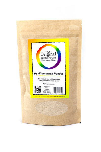 Original Superfoods Psyllium Husk Poeder 250 Gram
