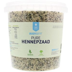 Pure Hennepzaden - 250 gram gezond?
