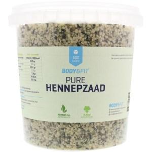 Pure Hennepzaden - 500 gram gezond?