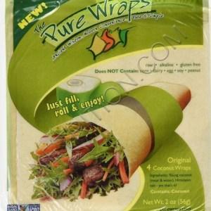 Pure Wraps Coconut - Curry gezond?