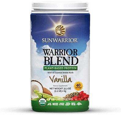 Sunwarrior Blend Vanille 1 KG gezond?