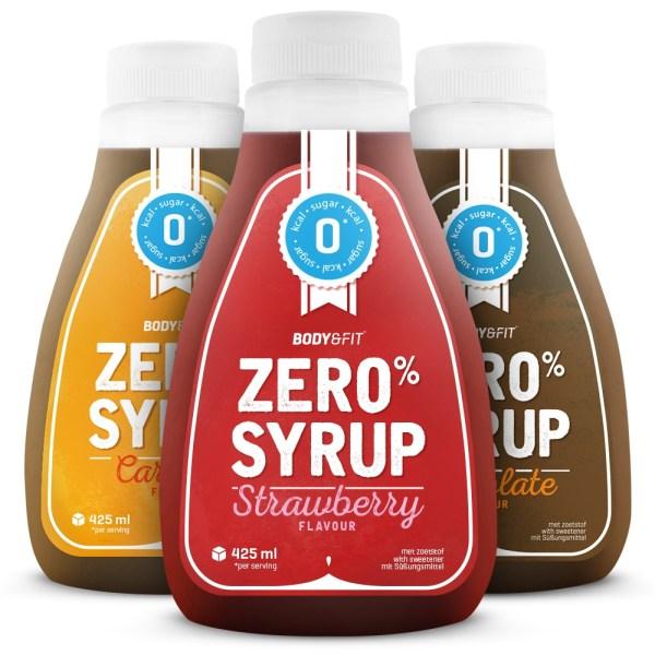 Zero Syrups - 400 ml - Strawberry Syrup