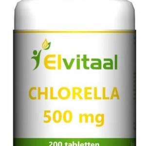 Elvitaal Chlorella 500mg Tabletten 200st gezond?