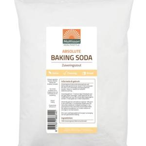 Mattisson HealthStyle Baking Soda Zuiveringszout gezond?