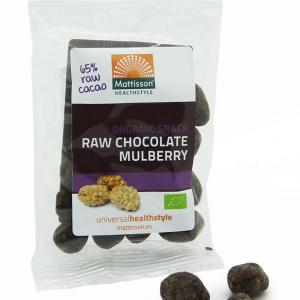 Mattisson HealthStyle Snack Mulberry Raw Chocolate
