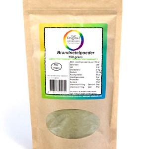 Original Superfoods Brandnetelbladpoeder 150 Gram