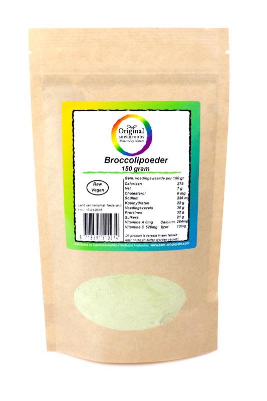 Original Superfoods Broccolipoeder 150 Gram