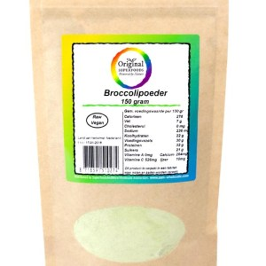Original Superfoods Broccolipoeder 150 Gram