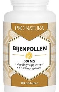 Pro Natura Pollen 500mg Tabletten 100st gezond?