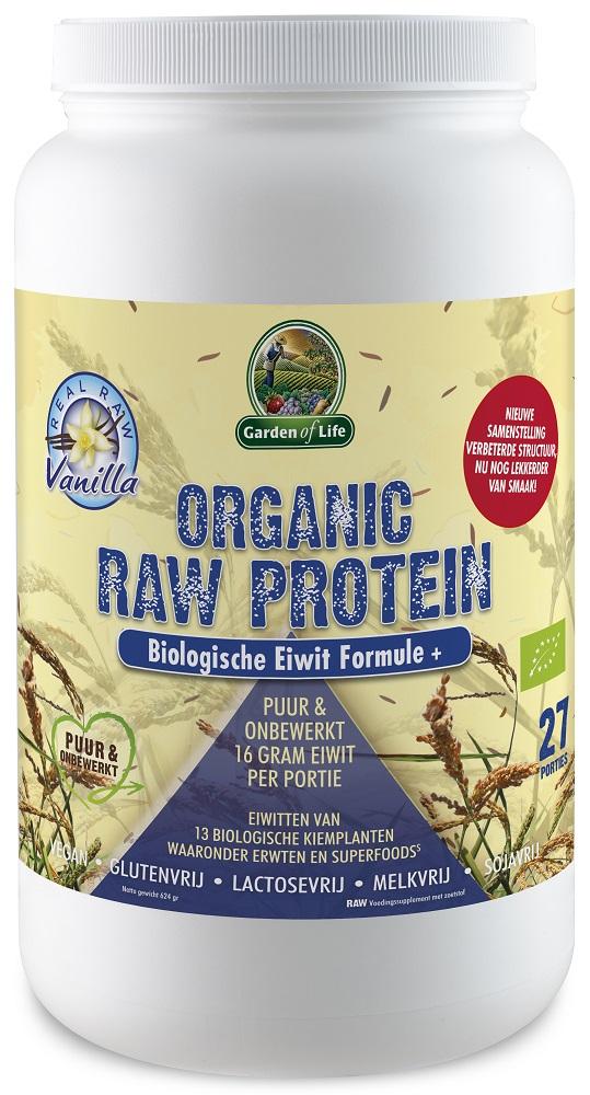 Garden Of Life Organic Raw Protein Vanille gezond?