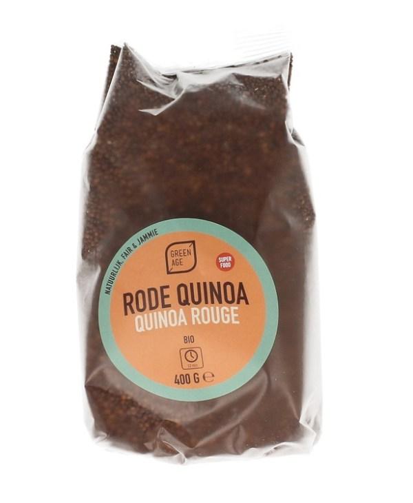 Greenage Quinoa Rood gezond?