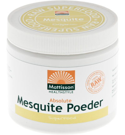 Mattisson Absolute Mesquite Poeder Raw Bio (300g) gezond?