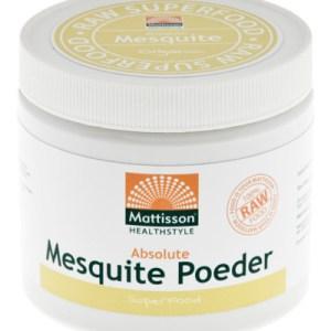 Mattisson Absolute Mesquite Poeder Raw Bio (300g) gezond?