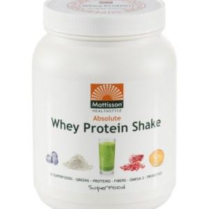 Mattisson Absolute Superfood Proteine Whey (500g) gezond?