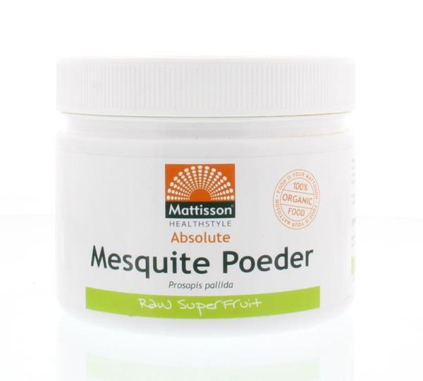 Mattisson Absolute mesquite poeder raw bio gezond?