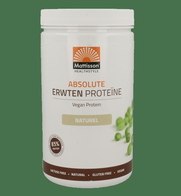 Mattisson HealthStyle Absolute Erwten Proteine Poeder Naturel 350gr gezond?