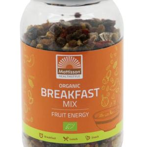 Mattisson HealthStyle Breakfast Mix Fruit Energy gezond?