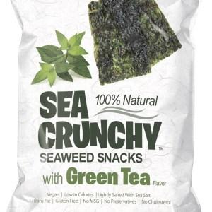 Sea Crunchy Zeewiersnacks Groene Thee gezond?