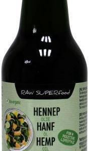 Terrasana Raw hennep olie koudgeperst in glas gezond?