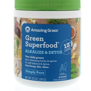 Amazing Grass Alkalize Green Superfood (240g) gezond?