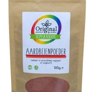 Original Superfoods Aardbeienpoeder 100 gram