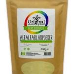 Original Superfoods Alfalfablad 150 Gram
