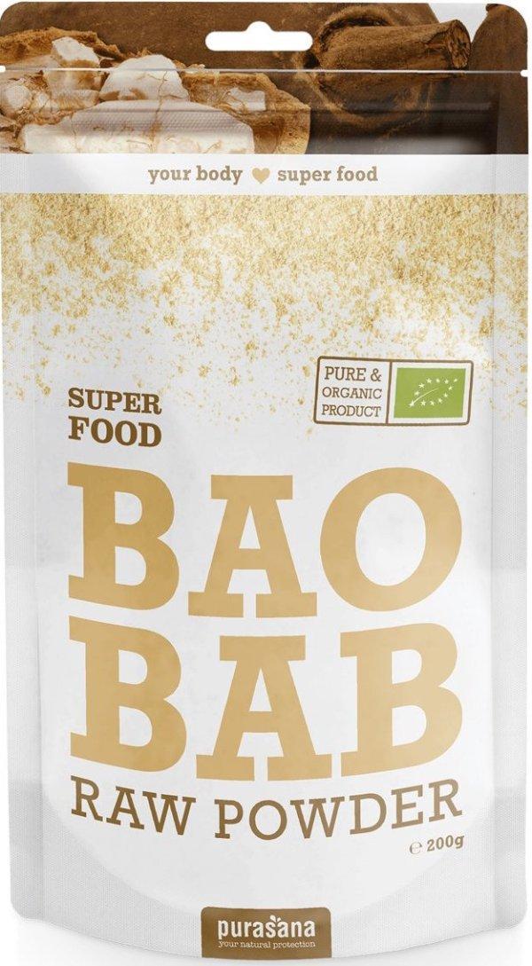 Purasana Baobab Raw Powder