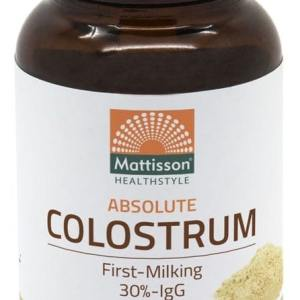 Mattisson HealthStyle Absolute Colostrum Capsules