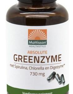 Mattisson HealthStyle Absolute GreenZyme Capsules