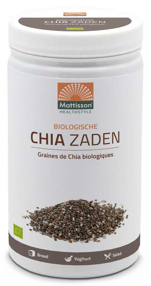 Mattisson HealthStyle Biologische Chia Zaden