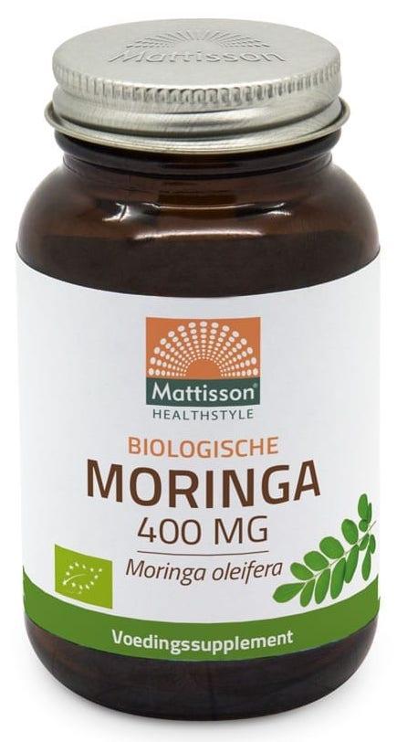Mattisson HealthStyle Biologische Moringa 400mg Capsules