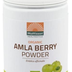 Mattisson HealthStyle Organic Amla Berry Poeder