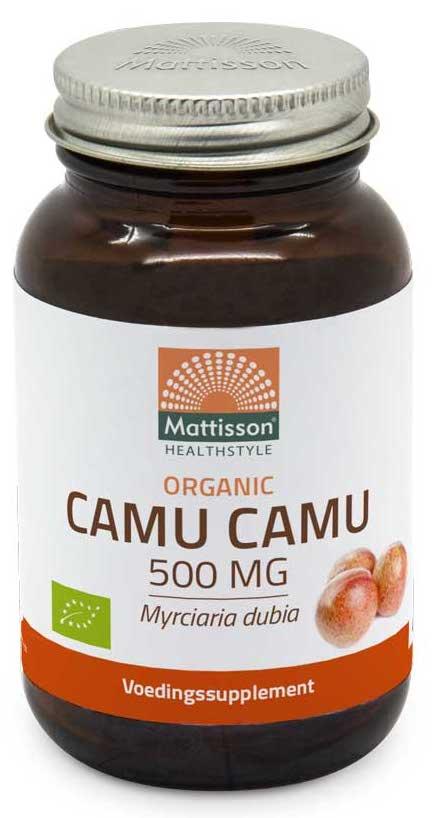 Mattisson HealthStyle Organic Camu Camu Capsules