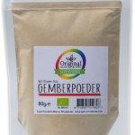 Original Superfoods Biologische Gemberpoeder 80 Gram gezond?