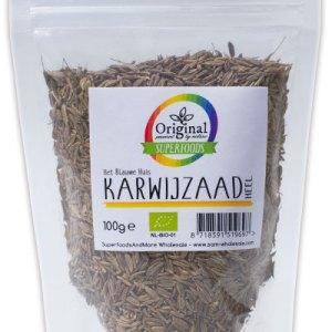 Original Superfoods Biologische Karwijzaad Heel 100 Gram