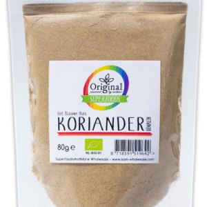 Original Superfoods Biologische Koriander Gemalen 80 Gram