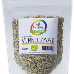 Original Superfoods Biologische Venkelzaad 80 Gram