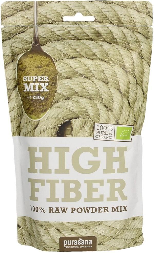 Purasana High Fiber Mix Raw Powder
