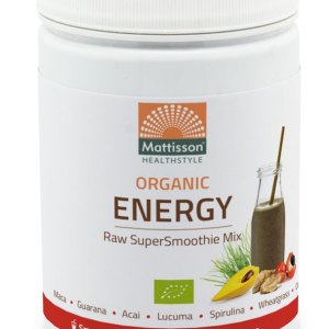 Mattisson HealthStyle Organic Energy SuperSmoothie Mix