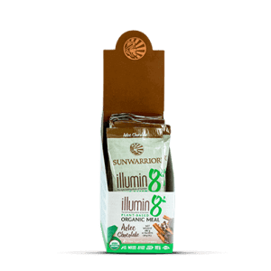 Sunwarrior Biologische Illumin8 Aztec Chocolate 40 Gram gezond?