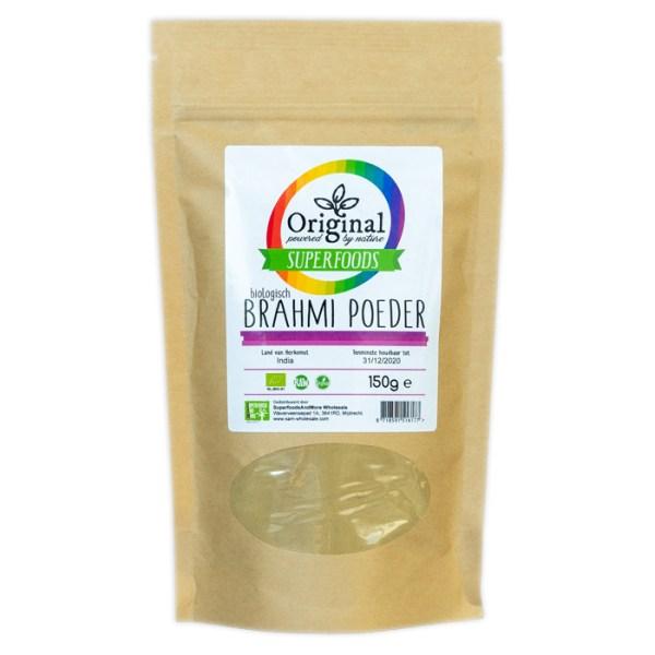 Original Superfoods Biologische Brahmi Poeder 150 Gram