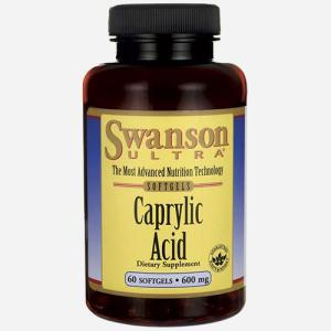Ultra Caprylic Acid 600mg