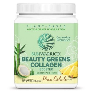 Sunwarrior Beauty Greens Collagen Booster Pina Colada 300 Gram gezond?
