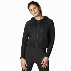 Women's Zipped Hoody Black