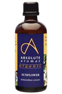 Absolute Aroma's Biologische Massage Olie Sunflower 100 ml