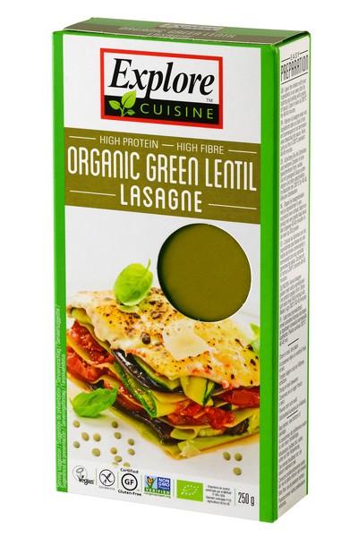 Explore Cuisine Biologische Groene Linzen Lasagne 250 Gram
